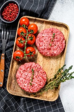 Steacks hachés pur boeuf 5 kg BIO La Saveur de Lubbia