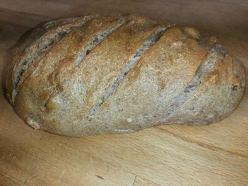 PAIN AUX NOIX BIO 500 gr Le pain de l'Oustal
