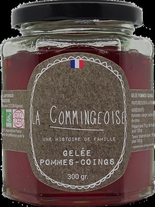 Gelée Pommes - Coings -  BIO 300 gr La Commingeoise