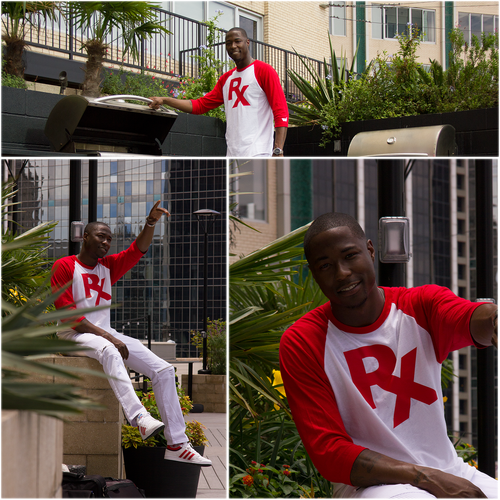 Rx Allstars Baseball-Tee (Red)