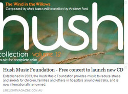 Hush Music Foundation - Free concert to launch new CD