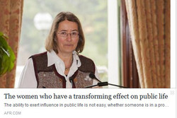 150924_The women who have a transforming effect on public life