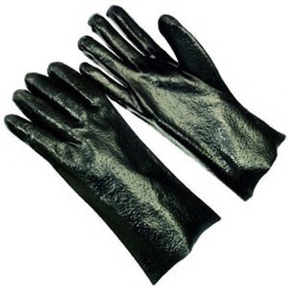 18 in. Black Leather Glove