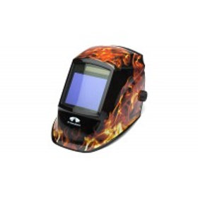 WHAM3030FL Flame  Auto Darkening Helmet
