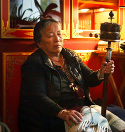 Spinning a Prayer Wheel for the benefit of all beings