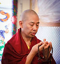 Lama Sonam Offers Mandala