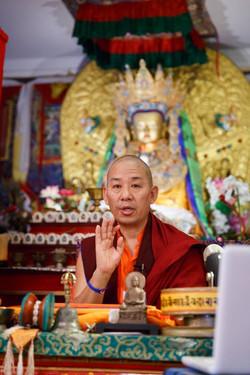 Ven. Lama Konchok Sonam Teaches