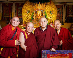 Visiting Teachers and Venerable Lama Konchok Sonam