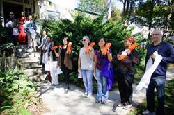 Sangha Peacewalk