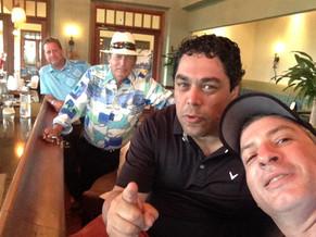 After a round of Golf at Dorado Beach Plantation with friends...