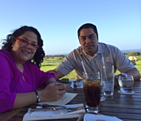 Afternoon dinner at Royal Isabela a beautiful place in Puerto Rico