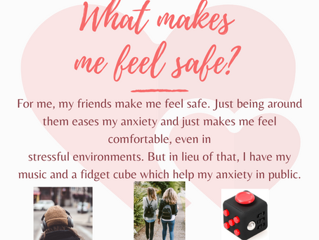 What makes me feel safe