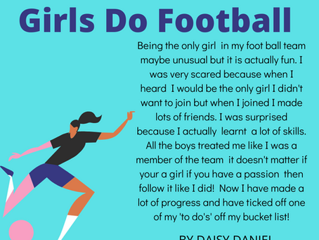 Girls Do Football