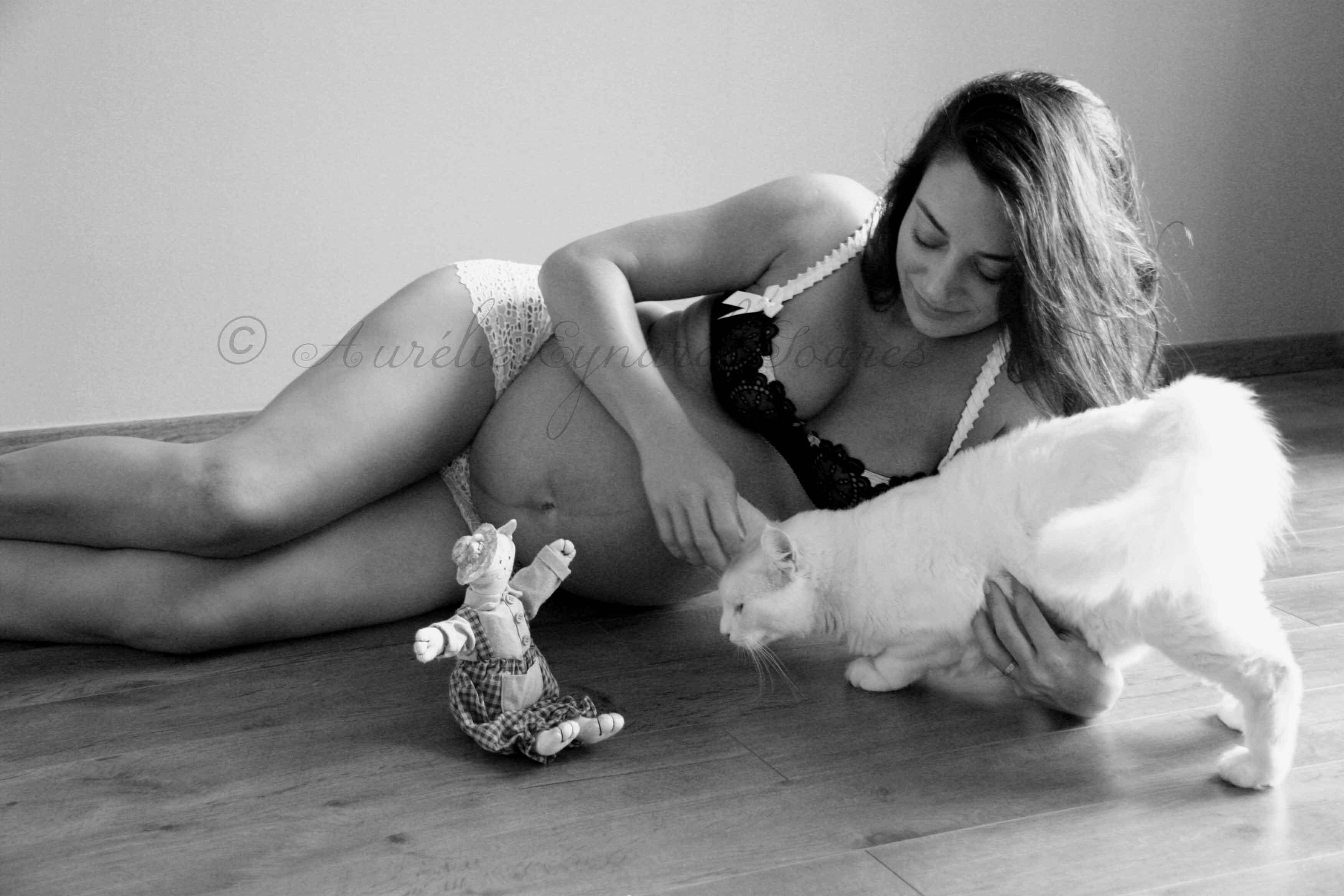 Photographe Grossesse Villeneuve
