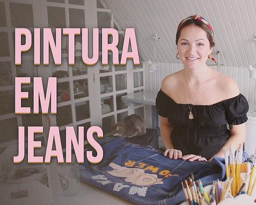Curso Pintura em Jeans