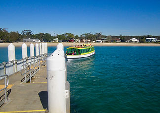Bundeena ferry 500m from Tui Cottages