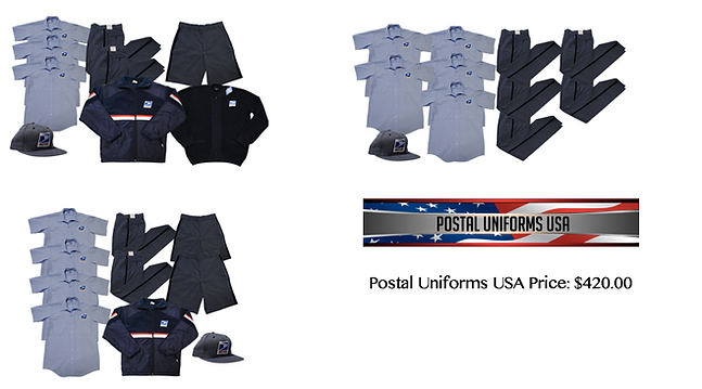 Postal Uniforms Bundles