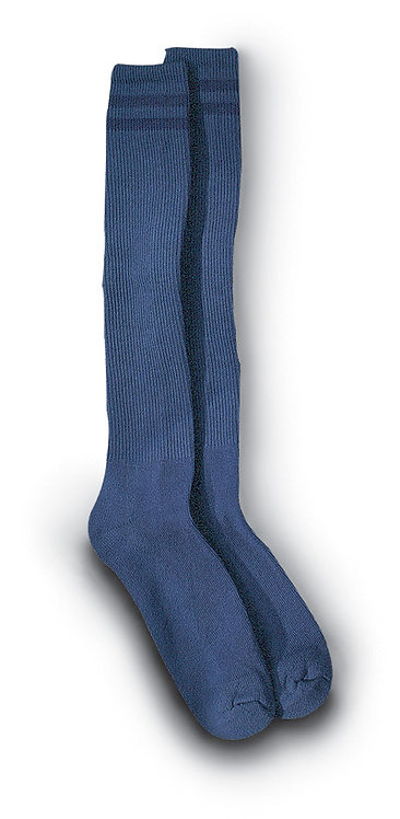 Full Length Socks / Over the Calf - (BLUE)
