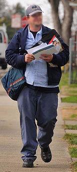 badly dressed mailman