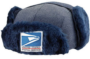 Fur USPS Postal Hat