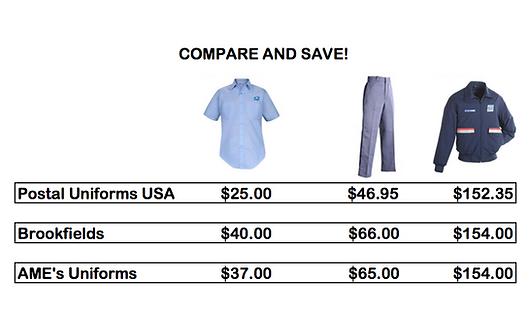 95354809652 Postal Uniform Store Philadelphia
