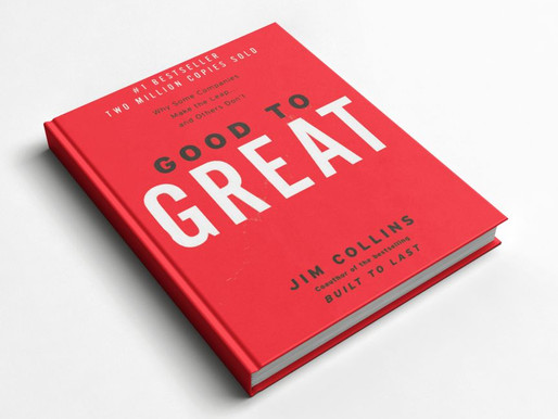 One of the best scaleup books: Good to Great