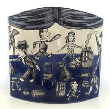 Vase - Variante avec rideau