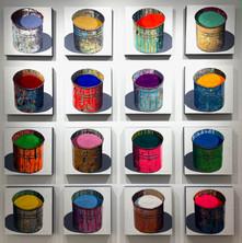 Stephane Braud - Pots a Pigments White G