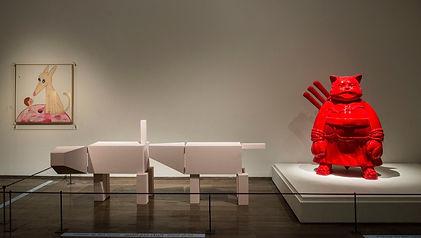 Hiro-Ando-Samuraicat-Red-2006-displayed-