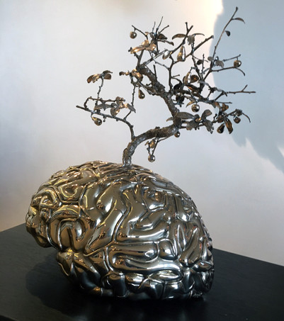 Brein met Miniatuuurboom