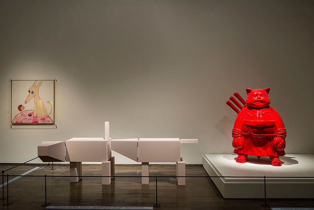 Hiro-Ando-Samuraicat-Red-2006-displayed-