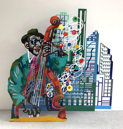 Jazz and the city - Contrebass