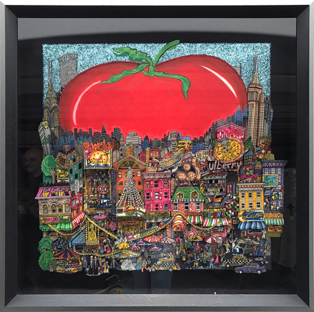 The Apple in NYC