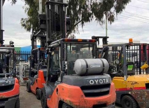 Toyota Forklift 4 ton LPG