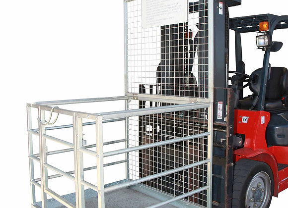 Work Platform Safety Cage