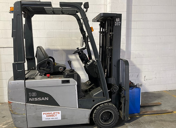 Nissan 3 Wheel Electric Container Mast