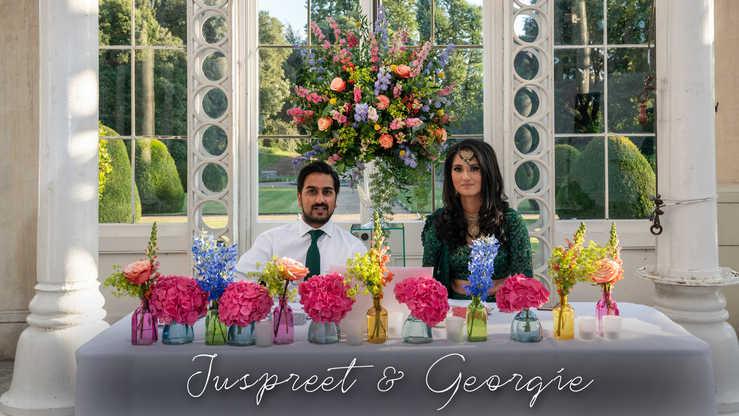 Juspreet and Georgie Wedding Video