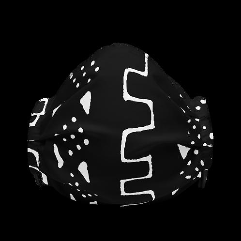 Mudcloth logo mask