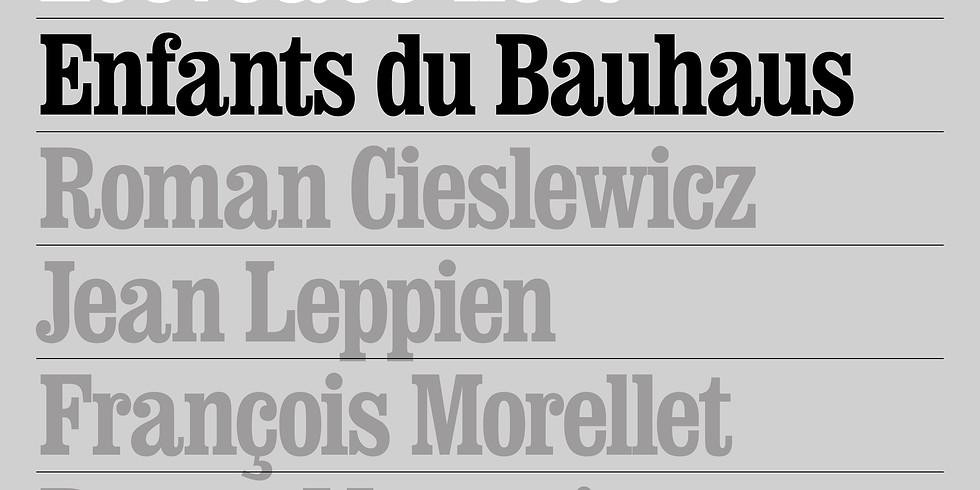 Les enfants du Bauhaus