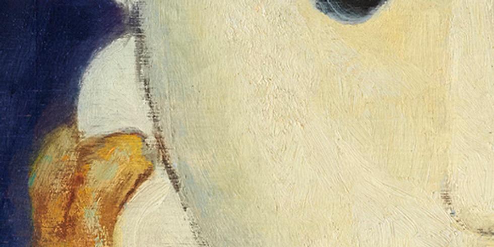 Loeve&Co-llect: #143 Ivan Da Silva Bruhns (Portrait sur fond bleu)