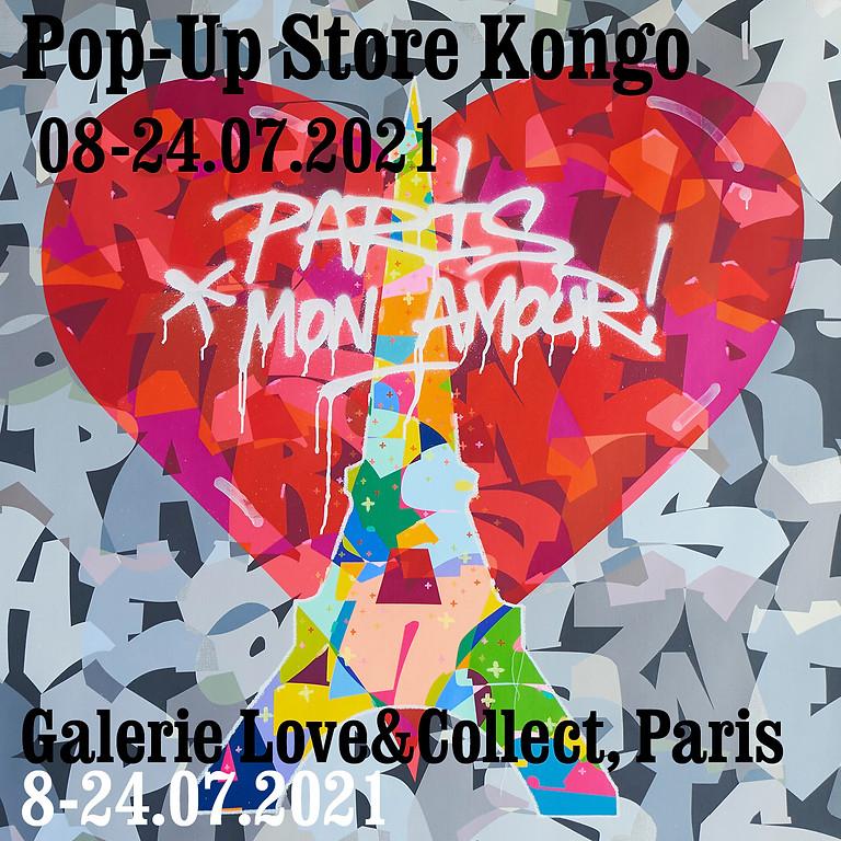 Love&Collect: Pop-Up Store Kongo