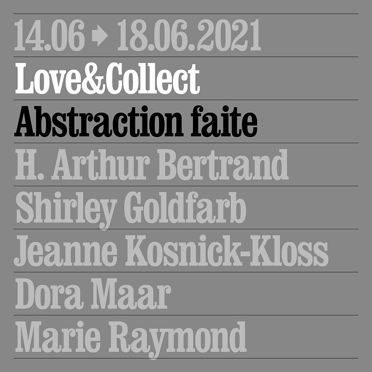 Love&Collect: Abstraction faite