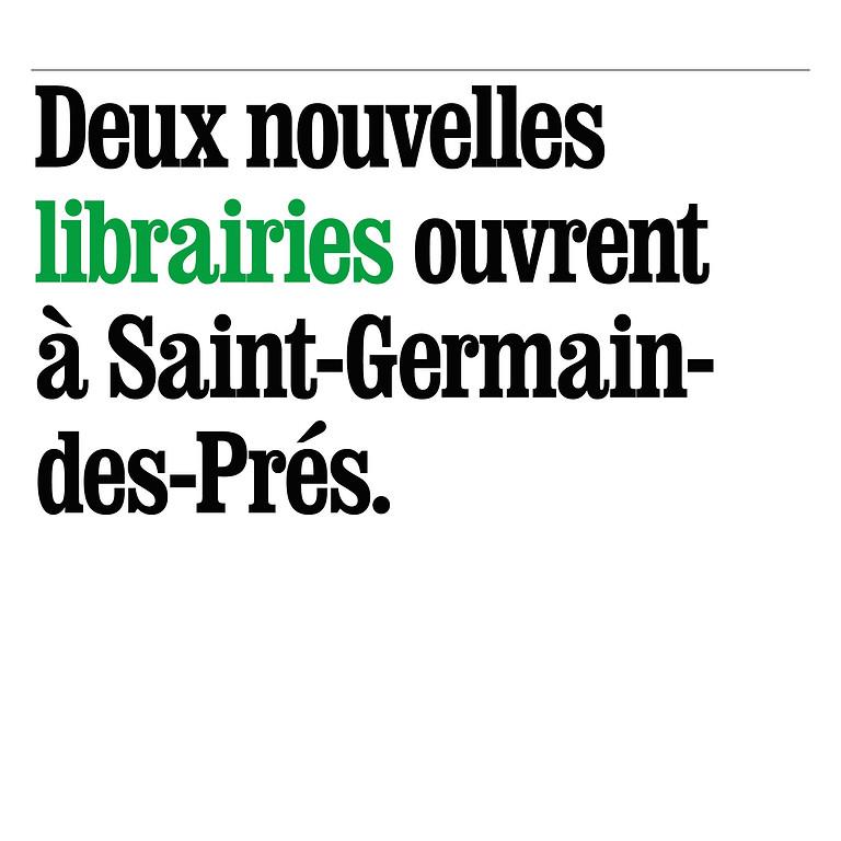 Deux nouvelles librairies à St-Germain-des-Prés!
