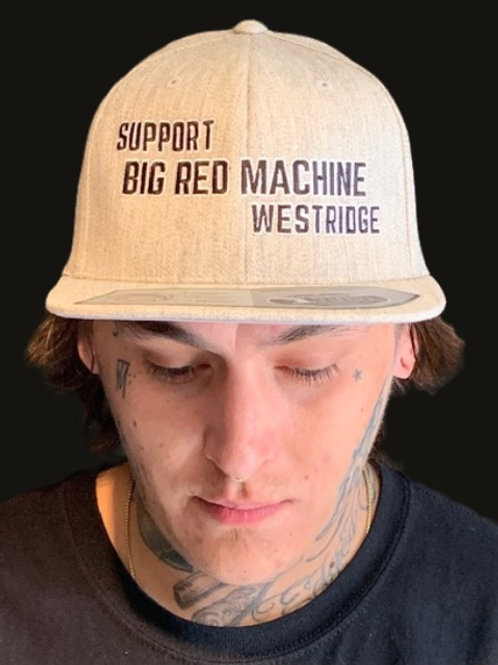Grey Support BRM West Snap Hat