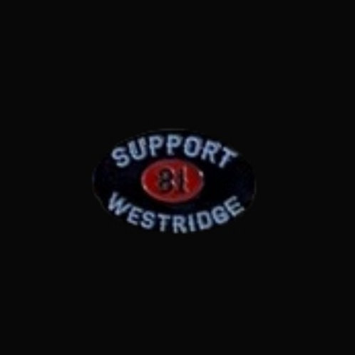 Support 81 Westridge Oval Pin