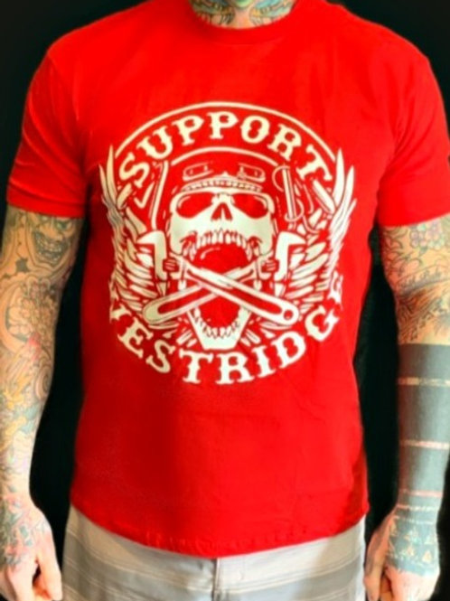 Men's Red Wrench T