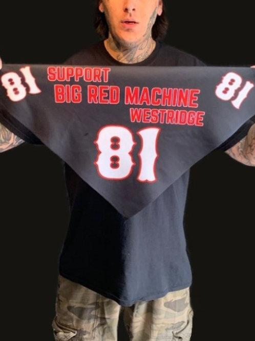 Black Support BRM Bandana