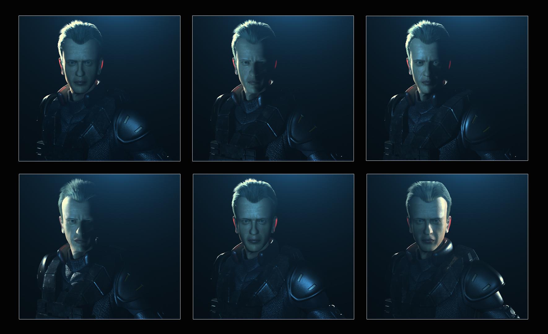 Portrait Lighting Tests 001