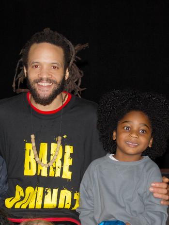 Olu and Savion Glover Tap Dancer, Producer, Actor