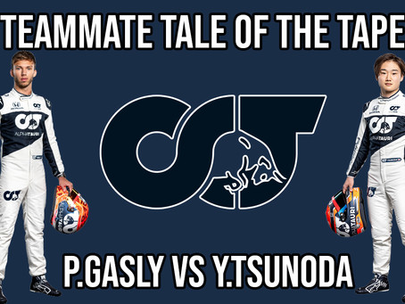 Teammate Tale of the Tape - Gasly vs Tsunoda at Alpha Tauri